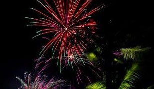 Grita de Dolores fireworks